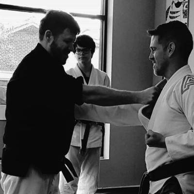 wilmington nc martial arts - seminar with sense bair