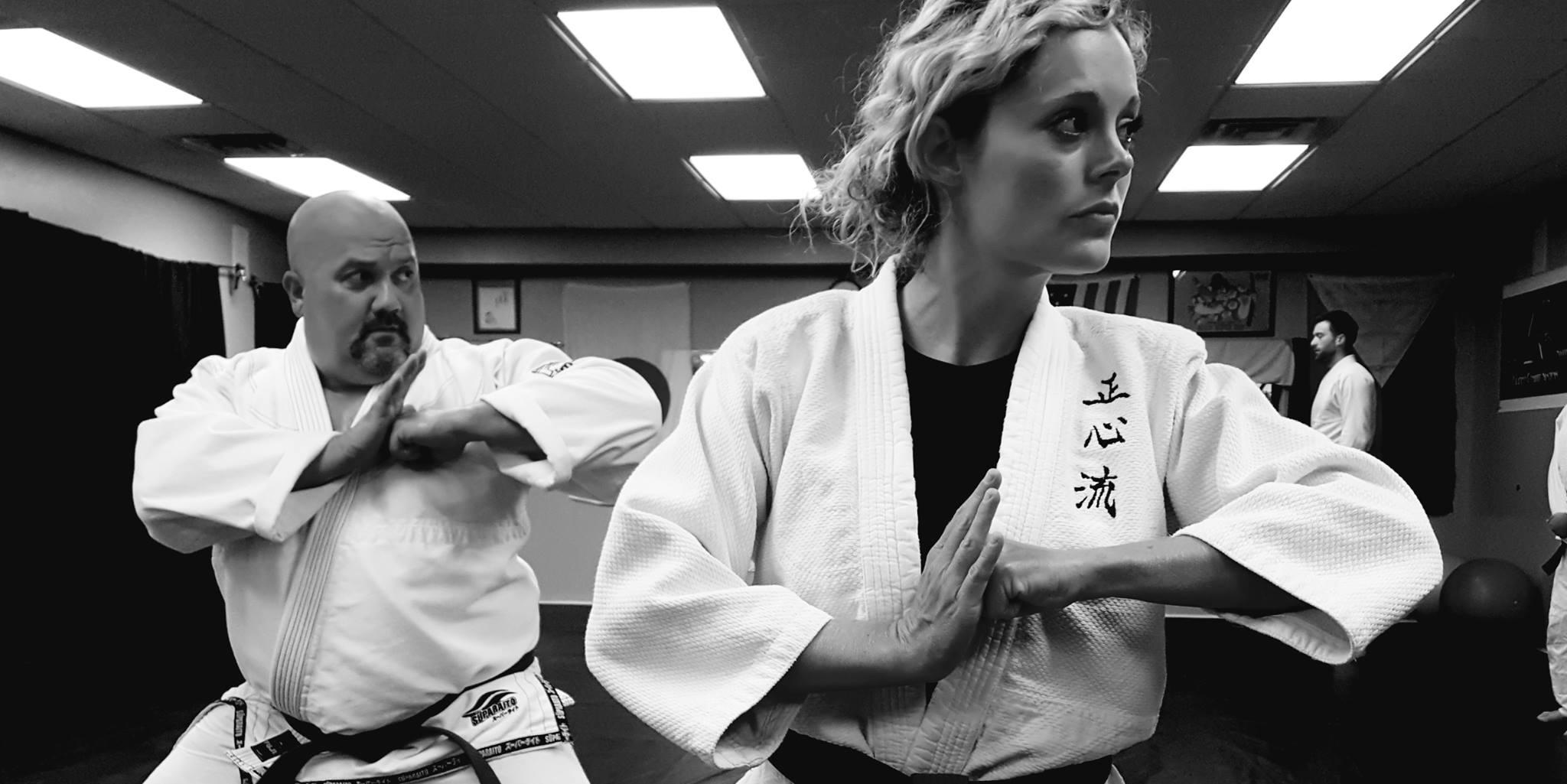 wilmington nc martial arts - sensei esther and jason frick